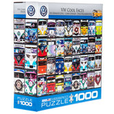 VW Cool Faces Puzzle